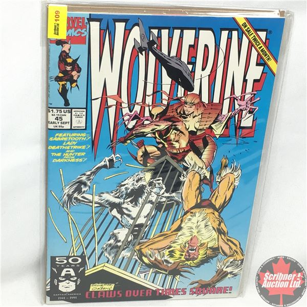 MARVEL: Wolverine 45, Early September 1991: Claws Over Times Square