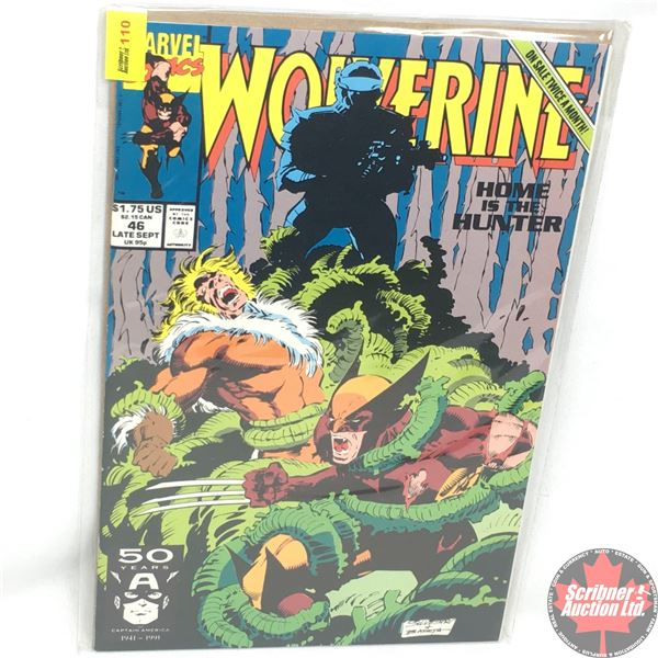 MARVEL: Wolverine 46, Late September 1991:  Home is The Hunter