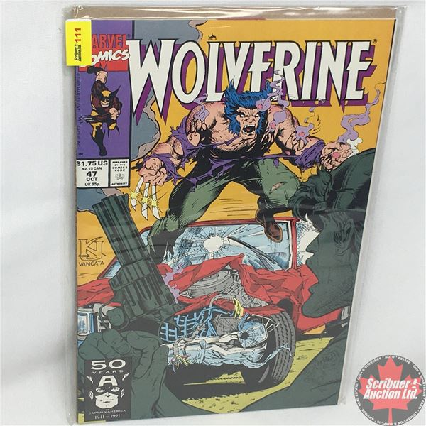 MARVEL: Wolverine 47, October 1991:  Stan Lee Presents: Dog Day