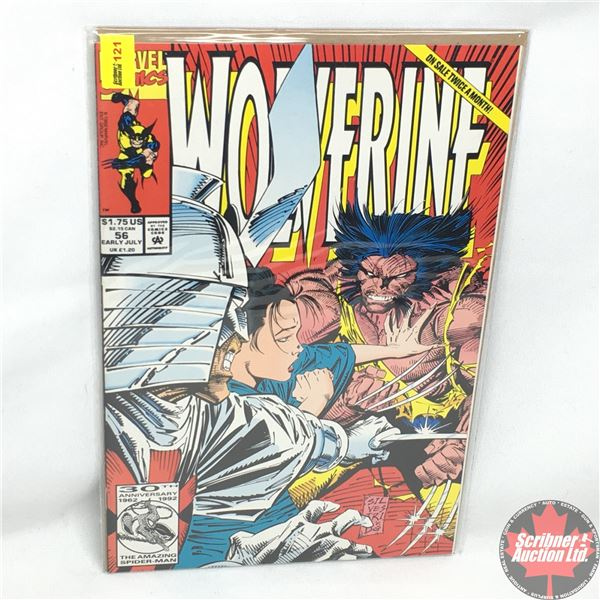 MARVEL: Wolverine 56, Early July 1992: We Got Cylla  Can Mothra Be Far Behind?