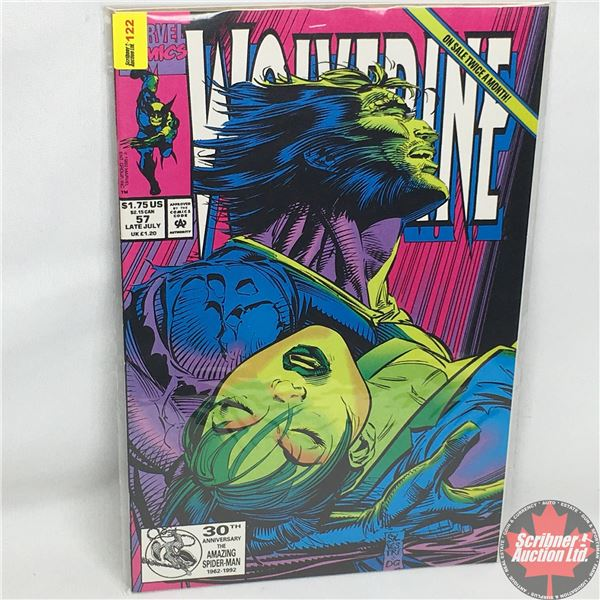 MARVEL: Wolverine 57, Late July 1992: Death In The Family