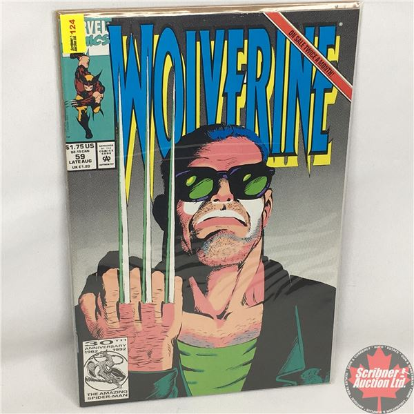 MARVEL: Wolverine 59, Late August 1992:  Unnatural Resources