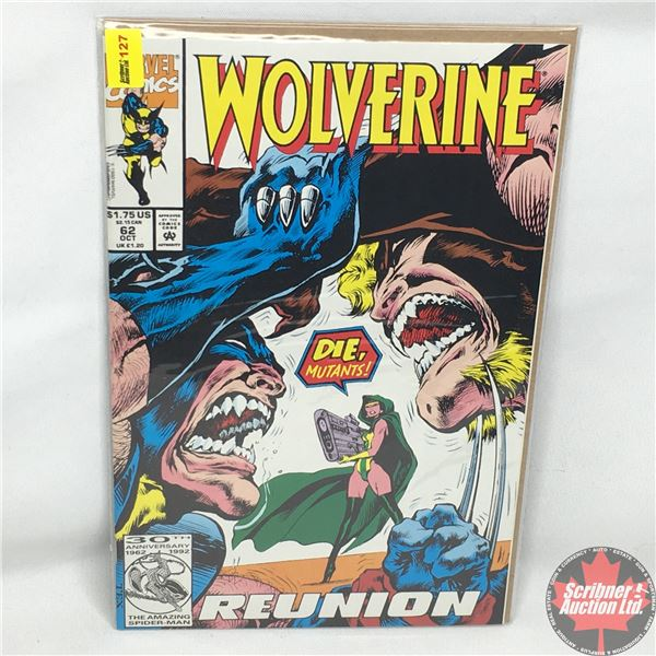 MARVEL: Wolverine 62, October 1992:  Reunion