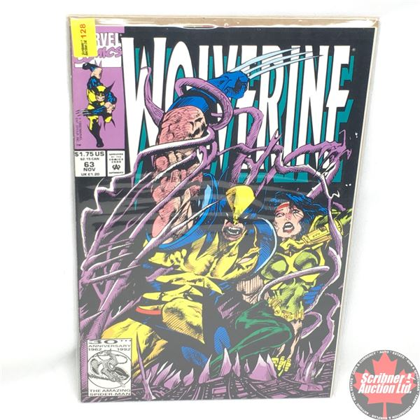 MARVEL: Wolverine 63, November 1992:  Stan Lee Presents an Adventure of the Canadian X-Man--Bastions