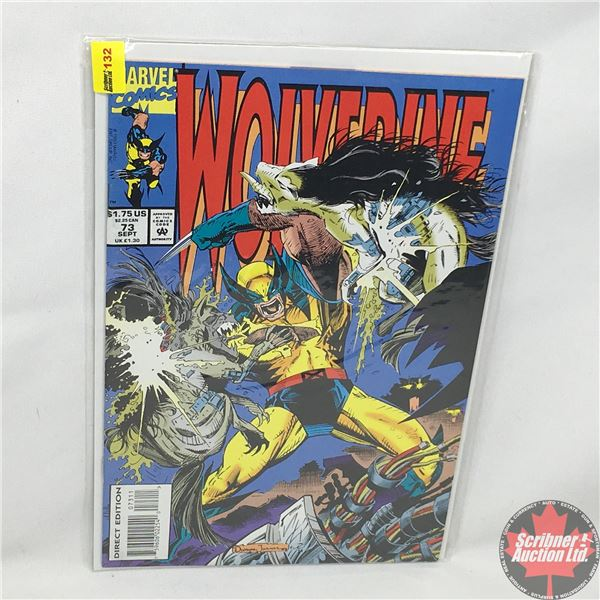 MARVEL: Wolverine 73, September 1993: The Formicary Mound - Direct Edition