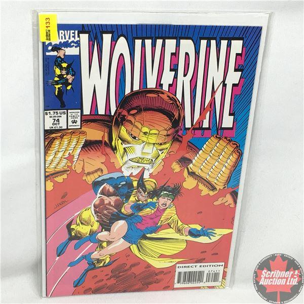 MARVEL: Wolverine 74, October 1993: Jubilee's Revenge - Direct Edition