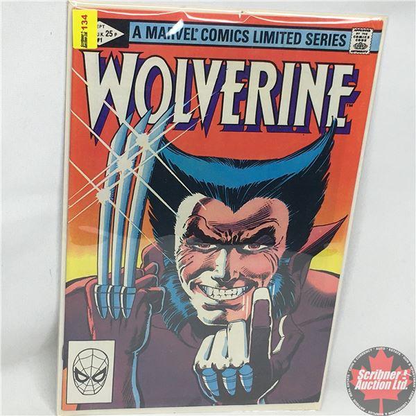 A MARVEL COMICS LIMITED SERIES:  Wolverine Vol. 1, No. 1, September 1982 - A Stan Lee Presentation -