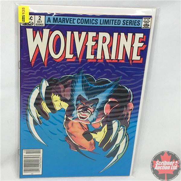 A MARVEL COMICS LIMITED SERIES:  Wolverine Vol. 1, No. 2, October 1982 - Stan Lee Presents: Debts an