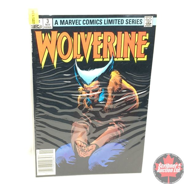 A MARVEL COMICS LIMITED SERIES:  Wolverine Vol. 1, No. 3, November 1982 - Stan Lee Presents: Loss