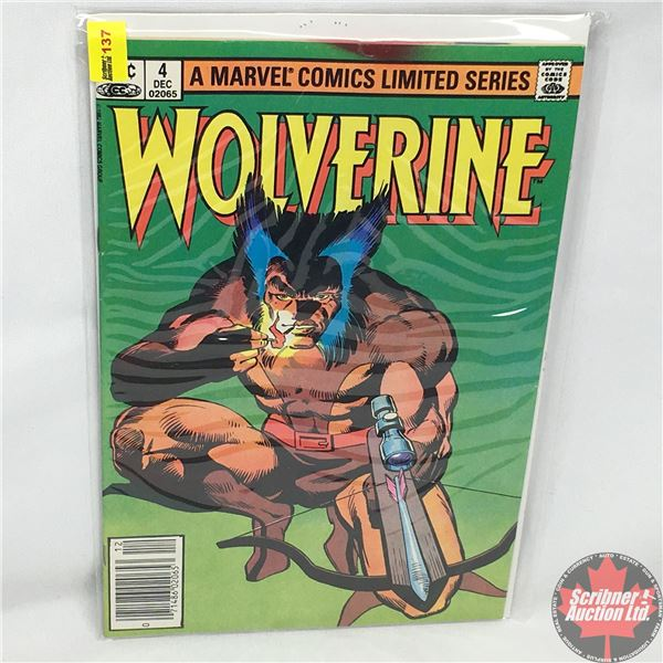 A MARVEL COMICS LIMITED SERIES:  Wolverine Vol. 1, No. 4,  December 1982 - Stan Lee Presents: Honor
