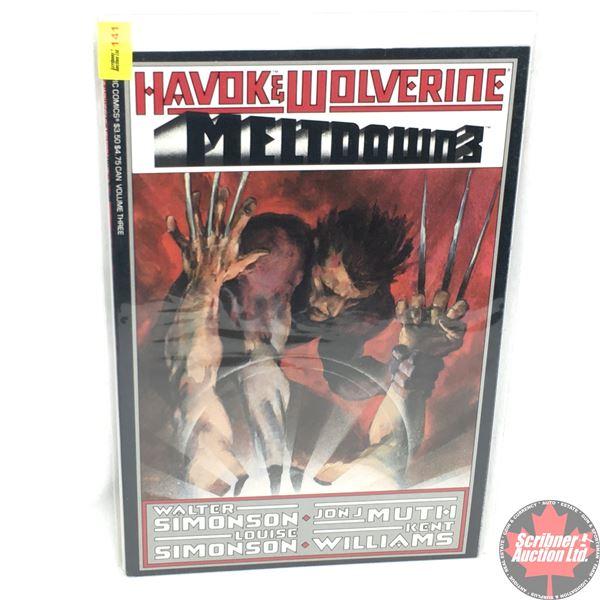 """Havok & Wolverine - Meltdown 3 - Volume 3 -  1989 - Published by """"Epic Comics""""  (Marvel)"""