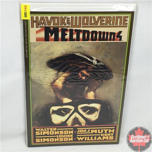 """Havok & Wolverine - Meltdown 4 - Volume 4 -  1989 - Published by """"Epic Comics""""  (Marvel)"""