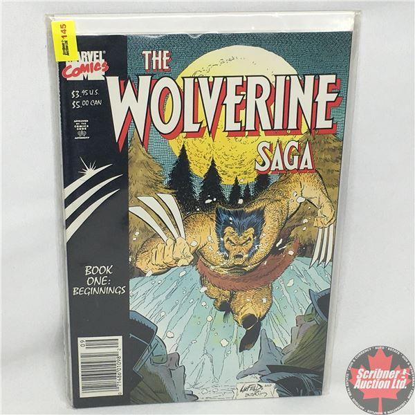 MARVEL COMICS:  The Wolverine Saga - Book One: Beginnings   Vol. 1, No. 1, September 1985