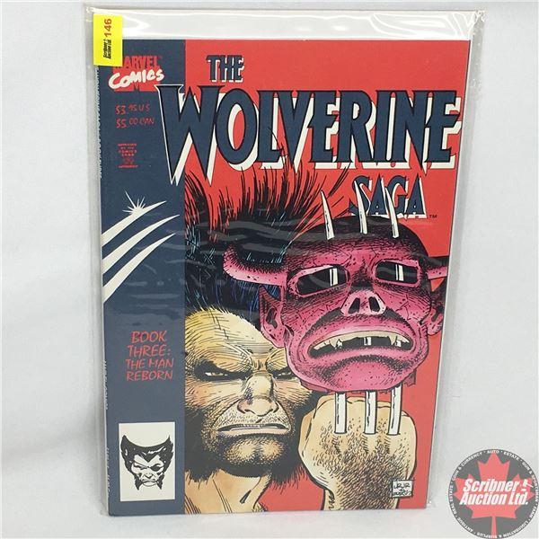 MARVEL COMICS:  The Wolverine Saga - Book Three: The Man Reborn   Vol. 1, No. 3, December 1989