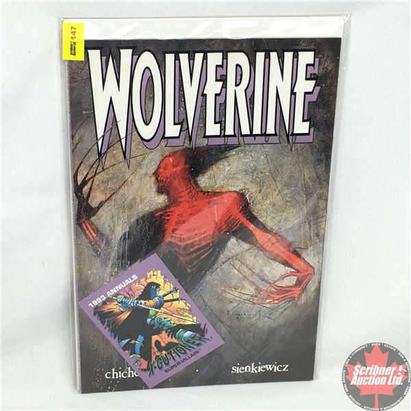 Wolverine - Stan Lee Presents: Inner Fury - November 1992 (Comes with 1993 Annuals - X-Cutioner Supe