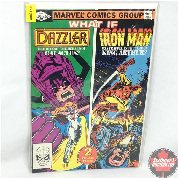 MARVEL COMICS GROUP: WHAT IF - Featuring The Dazzler and Iron Man  Vol. 1, No. 33, June 1982 - Stan