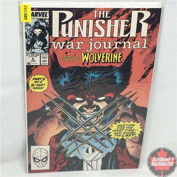 MARVEL: The Punisher War Journal - Guest Starring Wolverine - Vol. 1, No. 6, June 1989 - Stan Lee Pr