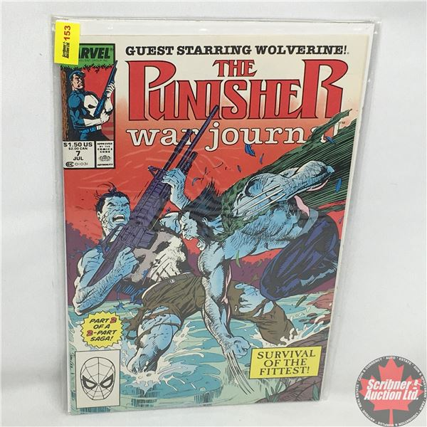 MARVEL: The Punisher War Journal - Guest Starring Wolverine - Vol. 1, No. 7, July 1989 - Part 2 of a