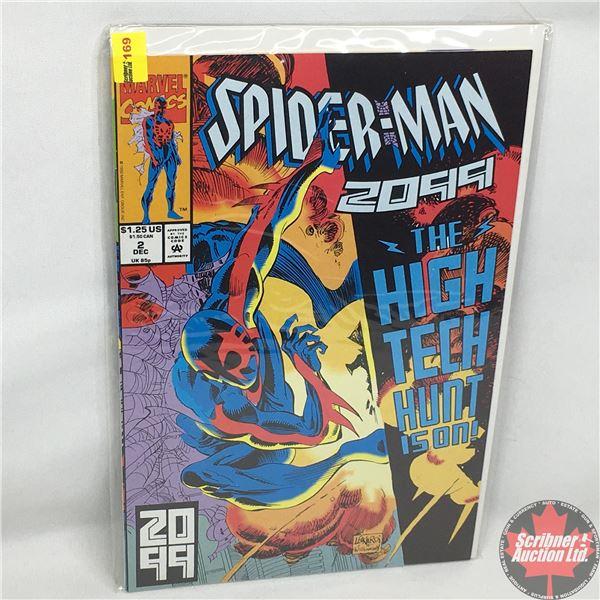 MARVEL COMICS: Spider-Man 2099 - Vol. 1, No. 2, December 1992 - Stan Lee Presents: The Origin of Spi