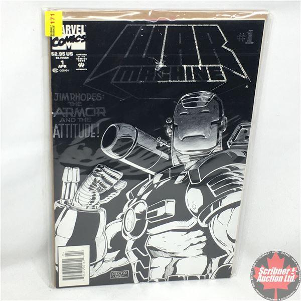 MARVEL COMICS: War Machine - Vol. 1, No. 1, April 1994 - Stan Lee Presents: War Machine