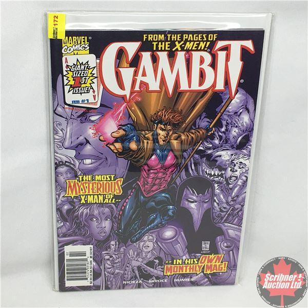 MARVEL COMICS: Gambit - Vol. 2, No. 1, February 1999 - Stan Lee Presents: Gambit - The Man of Steal
