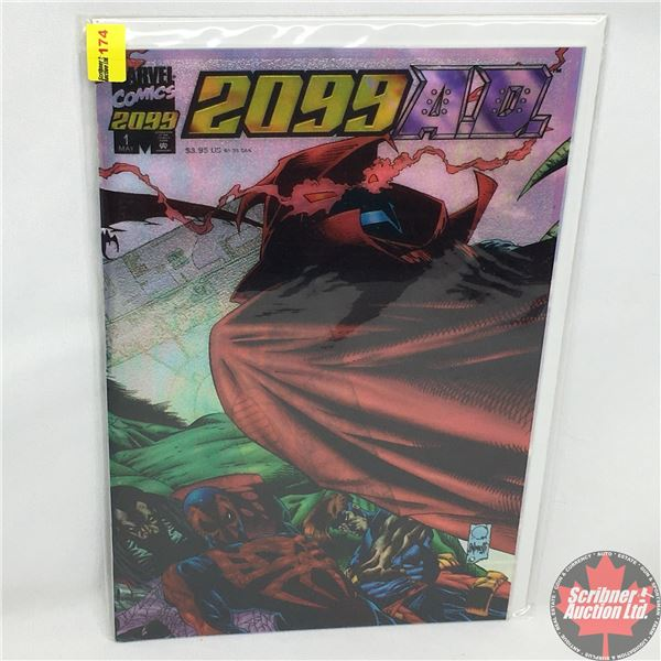 MARVEL COMICS: 2099 A.D. - Vol. 1, No. 1, May 1995 - Everything Is Fair : A Stan Lee Presentation