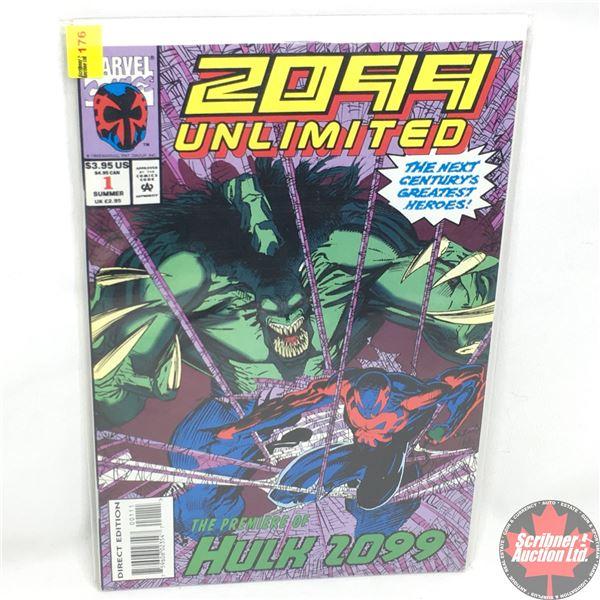 MARVEL COMICS: 2099 Unlimited: The Premiere of Hulk 2099 - Vol. 1, No. 1, July 1993 - Stan Lee Prese