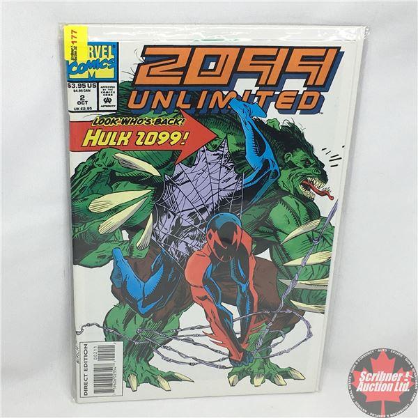 MARVEL COMICS: 2099 Unlimited: Hulk 2099 - Vol. 1, No. 2, October 1993 - Stan Lee Presents: Thirty M