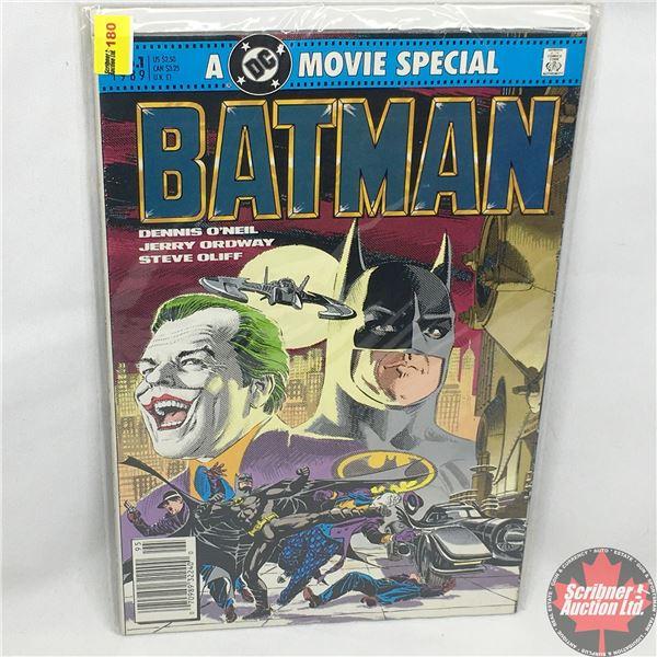 BATMAN: A DC Movie Special - No. 1, 1989 - Batman: The Official Comic Adaptation of The Warner Bros.