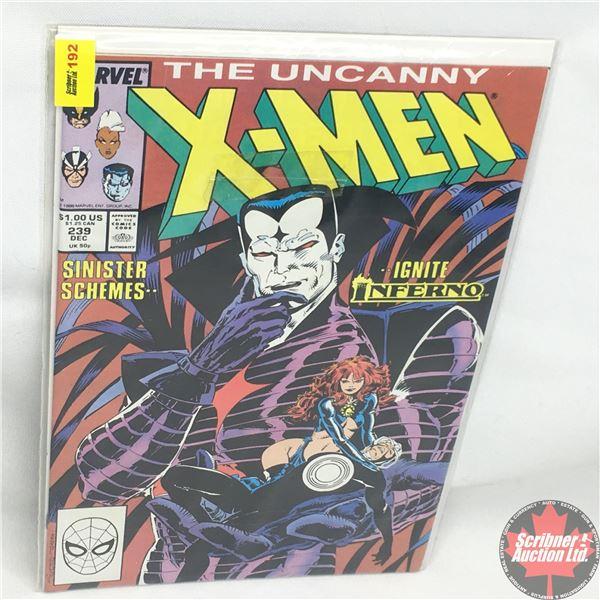 MARVEL: The Uncanny X-Men - Vol. 1, No. 239, December 1988 - Stan Lee Presents: Vanities