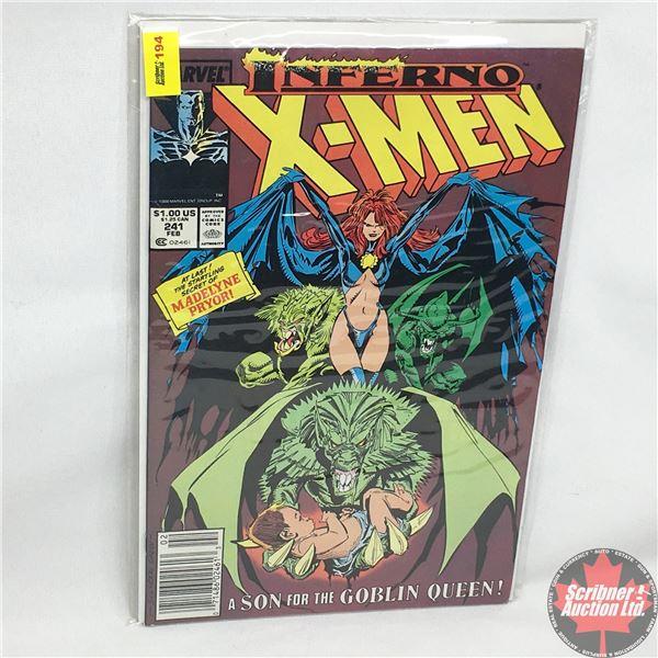 MARVEL: Inferno X-Men - Vol. 1, No. 241, February 1989 - Stan Lee Presents: Fan The Flames - Starrin