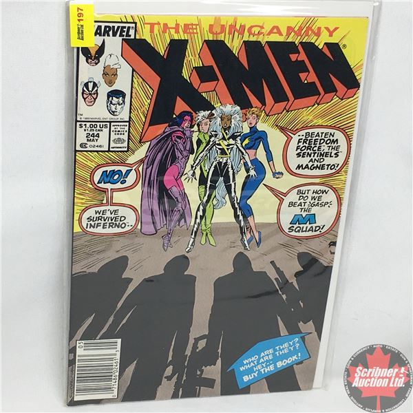MARVEL: The Uncanny X-Men - Vol. 1, No. 244, May 1989 - Ladies' Night