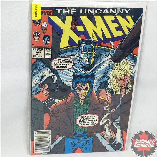 MARVEL: The Uncanny X-Men - Vol. 1, No. 245, June 1989 - Men!  - Presented by Stan Lee