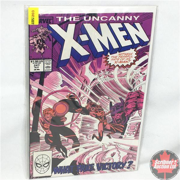 MARVEL: The Uncanny X-Men - Vol. 1, No. 247, August 1989 - Stan Lee Presents: The Light That Failed