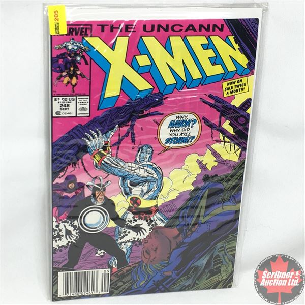MARVEL: The Uncanny X-Men - Vol. 1, No. 248, Early September 1989 - Stan Lee Presents: The Cradle Wi