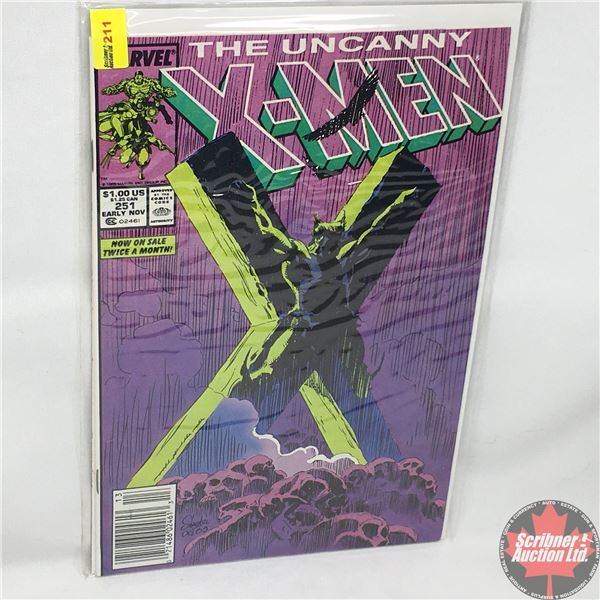 MARVEL: The Uncanny X-Men - Vol. 1, No. 251, Early November 1989 - Stan Lee Presents: Fever Dream