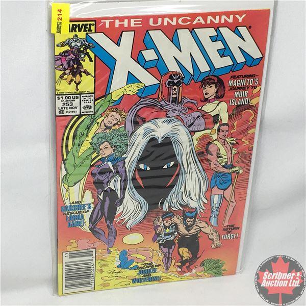 MARVEL: The Uncanny X-Men - Vol. 1, No. 253,  Late November 1989 - Stan Lee Presents: Storm Warnings