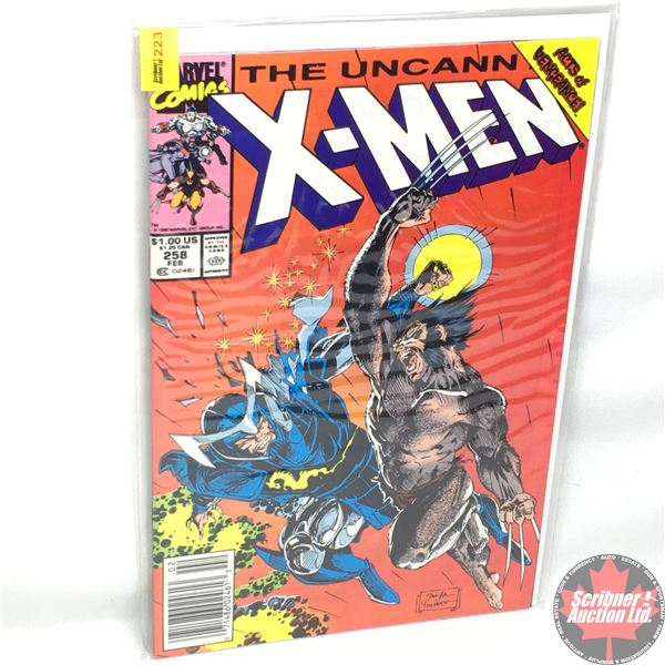 MARVEL: The Uncanny X-Men - Vol. 1, No. 258, February 1990 - Stan Lee Presents: Broken Chains