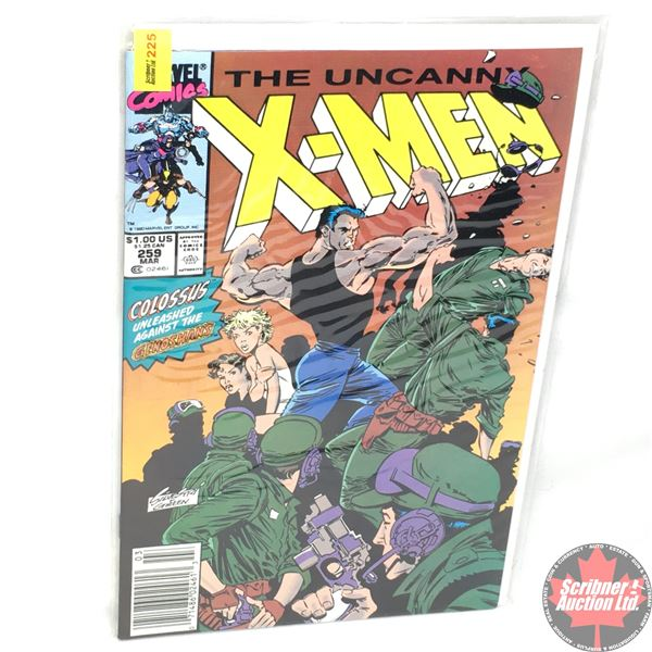 MARVEL: The Uncanny X-Men - Vol. 1, No. 259, March 1990 - Stan Lee Presents: Dream A Little Dream
