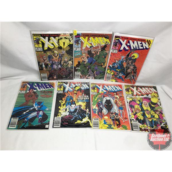 COMBO (7): MARVEL: The Uncanny X-Men - Vol. 1, No. 259, March 1990 - Stan Lee Presents: Dream A Litt