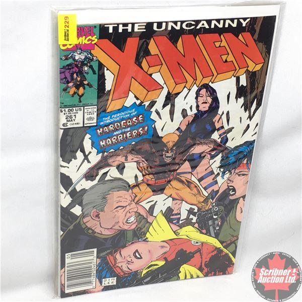 MARVEL: The Uncanny X-Men - Vol. 1, No. 261, May 1990 - Stan Lee Presents: Harrier's Hunt
