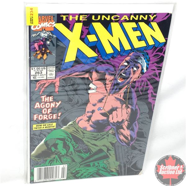 MARVEL: The Uncanny X-Men - Vol. 1, No. 263, Early July 1990 - Stan Lee Presents: The Lower Depths