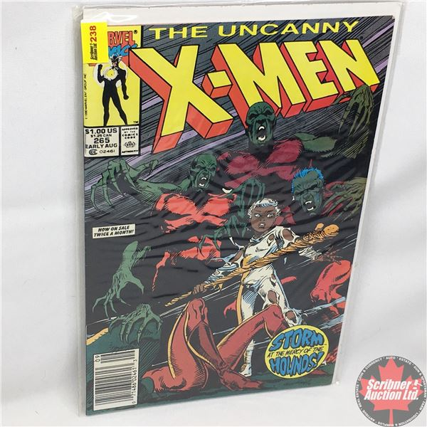 MARVEL: The Uncanny X-Men - Vol. 1, No. 265, Early August 1990 - Stan Lee Proudly Presents (and abou