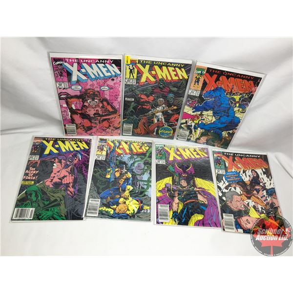 COMBO (7) : MARVEL: The Uncanny X-Men - Vol. 1, No. 265, Early August 1990 - Stan Lee Proudly Presen