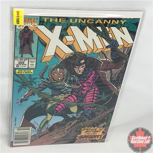 MARVEL: The Uncanny X-Men - Vol. 1, No. 266, Late August 1990 - Stan Lee Presents:  Gambit - Out Of