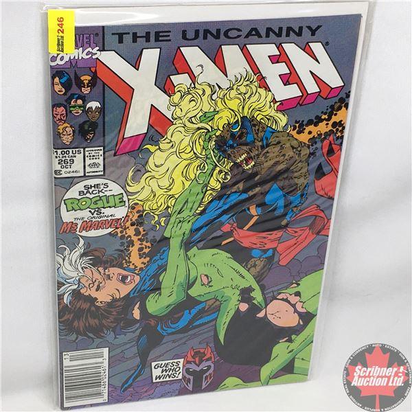 MARVEL: The Uncanny X-Men - Vol. 1, No. 269, October 1990 - Stan Lee Presents: Rogue Redux