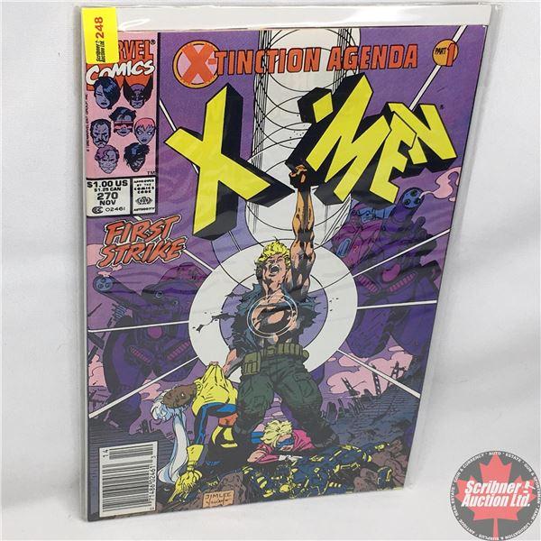 MARVEL: The Uncanny X-Men - Vol. 1, No. 270, November 1990 - The X-Tinction Agenda: First Strike