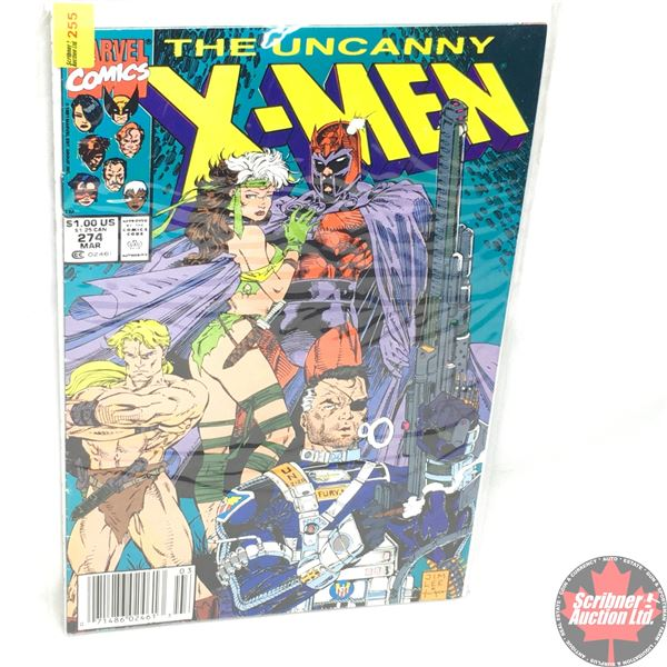 MARVEL: The Uncanny X-Men - Vol. 1, No. 274, March 1991 - A Tale of Pride and Power Featuring MAGNET