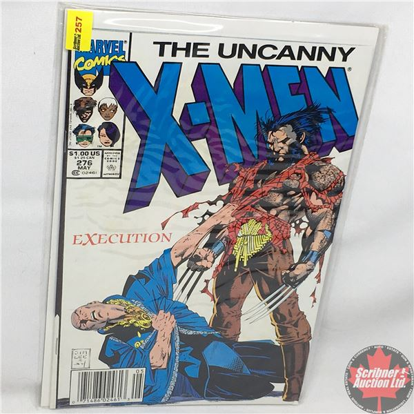 MARVEL: The Uncanny X-Men - Vol. 1, No. 276, May 1991 - Stan Lee Presents: Double Death