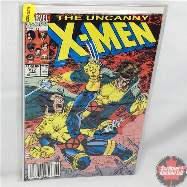 MARVEL: The Uncanny X-Men - Vol. 1, No. 277, June 1991 - Stan Lee Presents: Free Charley